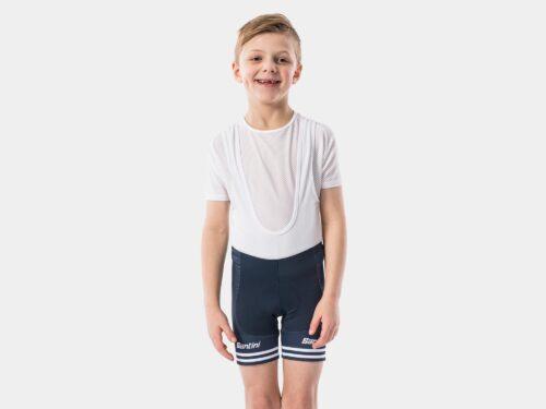 Santini Trek-Segafredo Kids' Team Replica Bib Short