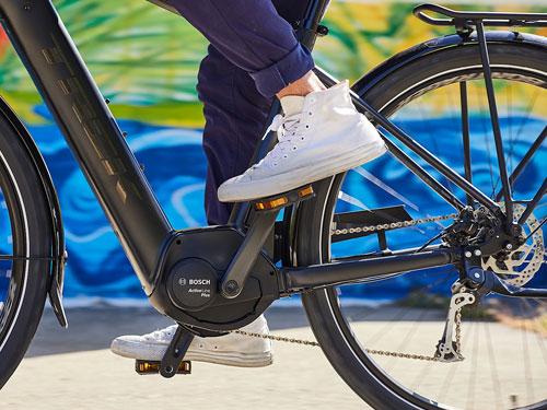 Elektrické hybridné bicykle