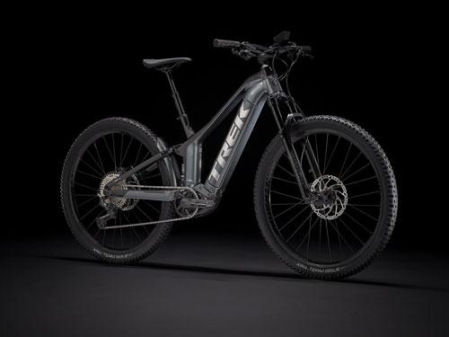 Celoodpružené elektrické bicykle/